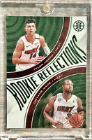 2019-20 Panini Illusions Tyler Herro Rookie Green Foil Reflections Dwyane Wade🔥