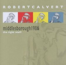 Robert Calvert The Right Stuff Live Middlesborough 1986 CD NEW SEALED Hawkwind