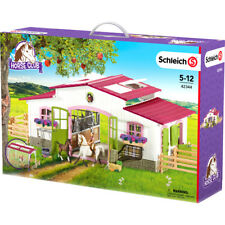 Schleich Farm Life Riding Centre With Rider & Accessories - 42344 - NEW