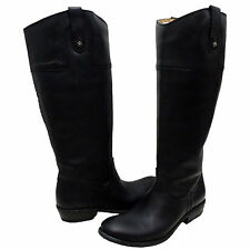 Frye Womens Carson Riding Button Tall Knee High Extended Calf Equestrian Boots