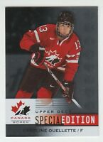 (56558) 2014-15 UD TEAM CANADA JUNIORS CAROLINE OUELLETTE SPECIAL EDITION #SE-52