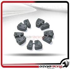 Kit Parastrappi originali Marchesini set 5 pezzi x cerchi M10 alluminio forgiato
