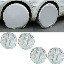 4xSet Auto Radabdeckung Reifenabdeckung Radschutzhülle for Lkw Anhänger Motor^