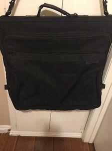 BRIGGS & RILEY BALLISTIC NYLON BI-FOLD GARMENT BAG BLACK