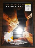 Batman Begins (DVD, 2005, Widescreen) Christian Bale, Liam Neeson
