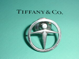 AUTHENTIC TIFFANY & CO STERLING SILVER TIE TAC!