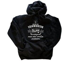 ANGEBOT!!! Ich bin tätowiert - PAPA - nur cooler Kapuzen-Sweat-Shirt S-XXL