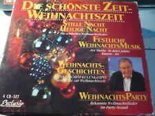 Die schönste Zeit - Weihnachtszeit--- 4er CD Box