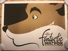 "Michael De Pippo ""The Fantastic Mr. Fox"" Variant roald dahl Poster print signed"