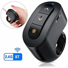 Wireless Presenter With Bluetooth, Rechargeable Presentation Remote For Models,