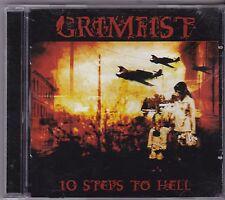 GRIMFIST - 10 STEPS TO HELL (*Used-CD, 2005, Candlelight) Immortal Black Metal