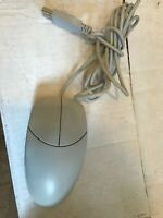 VINTAGE RARE LOGITECH 2 BUTTON M-UD42 WIRED MECHANICAL MOUSE OEM DIRECT - USA
