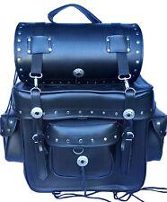 MOTORCYCLE SADDLE BAG Leather Rider Motorbike Tek Leather Biker Saddle bag