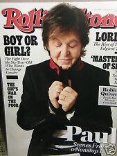 Rolling Stone  Paul {nonstop life}   2013  new/unread/no-label