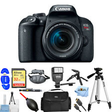 Canon EOS Rebel T7i DSLR Camera with 18-55mm Lens PROFESSIONAL BUNDLE BRAND NEW