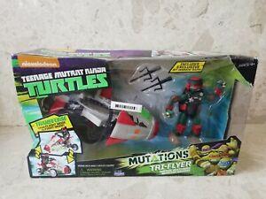 Teenage Mutant Ninja Turtles Mutations Tri-Flyer Vehicle with Raphael