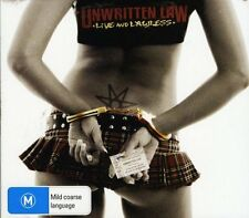 Unwritten Law - Live and Lawless (2008)  CD+DVD  NEW/SEALED  SPEEDYPOST