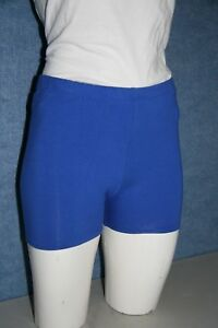 GIRLS PRIMARY BIKE SHORTS AUST MADE MIXED COLOURS  SIZES 4 TO 18 SHORT  LEG