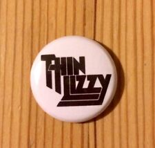 THIN LIZZY (BAND) - BUTTON PIN BADGE (25mm)