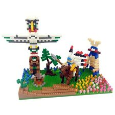 Indian Culture TICO Bricks Mini Building Block Construction Brick Toy T1502
