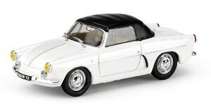 ELIGOR 1/43 RENAULT Alpine A106 Cabriolet 1958 blanche /noire Serie limitée 528