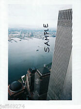 Photo 1 WORLD TRADE CENTER NYC WTC North Tower From S Tower Early1980s FREE SHIP