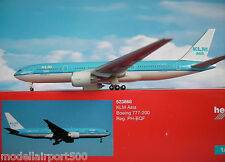 Herpa Wings 1:500 Boeing 777-200 KLM Asia  PH-BQF 523868