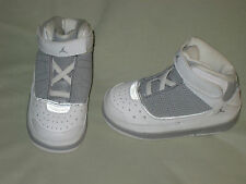 INFANT SIZE 6C NIKE AIR JORDAN JUMPMAN H SERIES WHITE HIGH TOP NEW GRAY