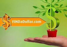 FINDaDOLLAR.com Unique Domain for sale - Build Your Blog or Website & Make Money