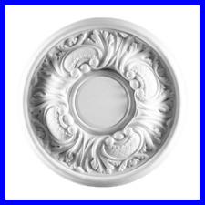 Rosoni in Polistirolo da Soffitto Rosone per Lampadario Decorativo Decorazioni