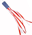 60 Inch American Flag Windsock, Stars and Stripes USA Patriotic Decorations