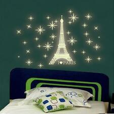 A Set Kids Bedroom Fluorescent Glow In The Dark Stars Wall Stickers R