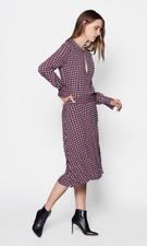 Equipment Femme Magnolia Women's Dress Size 6 Star Print Crepe Midi $425