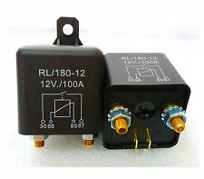 1pc New DC 12V 100A Heavy Duty Split Charge ON/OFF Relay Car Truck Boat