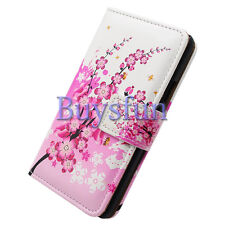 Bocov Bcov Flower Pattern Leather Wallet Cover Case For Samsung Galaxy S4 Mini