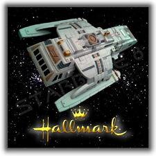 RUNABOUT SHUTTLE RIO GRANDE - STAR TREK MODELL von HALLMARK mit LICHTFUNKTION