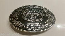 SL1 Jack Daniels  Old No. 7 Belt Buckle  Western Cowbow black and silver color