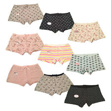 2 X Ladies Underwear Knickers Briefs Panties Boxer Boy shorts Trendy Designs