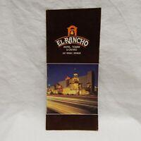 EL RANCHO HOTEL, TOWER & CASINO, LAS VEGAS, NEVADA BROCHURE