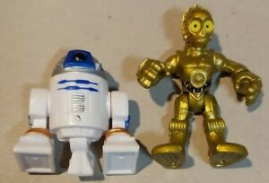 Fisher Price Imaginext Star Wars R2D2 & C3PO Action Figures