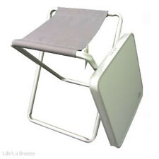 Table Via Mondo Leisure Table and Stool. Ideal for Caravan, Camping, Motorhome