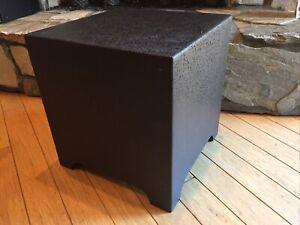 """Sonance HS10SUB Landscape Series 10""""  Subwoofer (92936) Dark Brown HDPVC"""