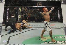 Chris Leben Signed 16x20 Photo PSA/DNA UFC 132 Wanderlei Silva KO Picture Auto'd