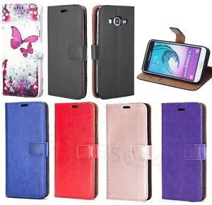 For Samsung J3 2016 J5 2017 Phone Case Leather Flip Shockproof Wallet Book Cover