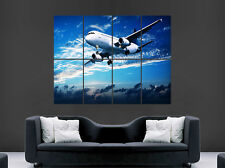 AIRBUS A320 POSTER INFLIGHT SKY CLOUDS AEROPLANE WALL ART PICTURE PRINT LARGE