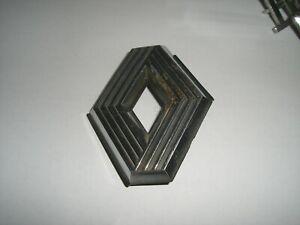 Emblem / Badge Renault Rhombe aus Metall ca. 70 x 60 mm, 2 Befestigungsstifte