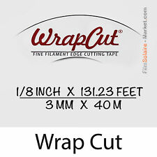"""""""WrapCut"""" - 40m, fil de coupe film vinyl, adhésif, covering, wrap, Filament Tape"""