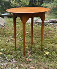 Eldred Wheeler oval stand from tiger maple burl birdseye maple of Museum quality