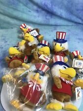 1984 La Olympics Games Sam Olympic Eagle Plush Assorted sizes