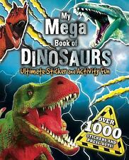 MY MEGA BOOK OF DINOSAURS - LITTLE BEE BOOKS (COR) - NEW PAPERBACK BOOK